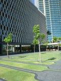 Jardin au bâtiment historique d'IBM Image libre de droits