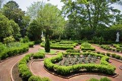 Jardin au palais de Tryon image stock