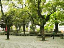 Jardin autour du Chung-tai Chan Monastery Images libres de droits