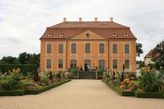 Jardin baroque photo stock