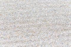 Jardin blanc de gravier de zen Photo stock