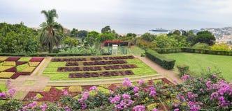 Jardin botanique à Funchal, île de la Madère, Portugal Photographie stock
