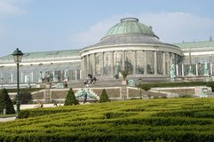 Jardin Botanique Stock Photo