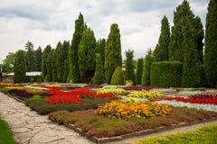 Jardin botanique dans Balchik, Bulgarie Photos libres de droits