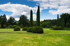 Jardin botanique dans Wirty, Pologne Photo libre de droits