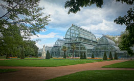 Jardin botanique de Λυών, Γαλλία στοκ φωτογραφία