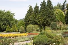 Jardin botanique de Balchiks en Bulgarie Photos libres de droits