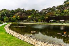 Jardin botanique 14 de la Chine Changhaï images libres de droits