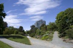 Jardin botanique de Vancouver à l'université de la Colombie-Britannique Photo libre de droits