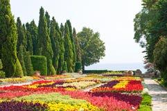 Jardin botanique. La Bulgarie Images libres de droits