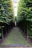 Jardin britannique à la Chambre de Harewood, Leeds, West Yorkshire, R-U Photo stock