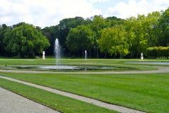 Jardin Château de Chantilly Francia fotos de archivo