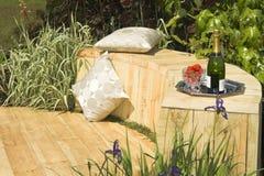 Jardin Champagne photographie stock libre de droits