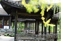 Jardin chinois, architecture chinoise Image libre de droits