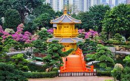 Jardin chinois de zen photos stock