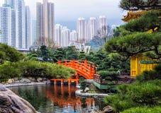 Jardin chinois de zen images libres de droits