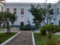 Jardin colonial Photographie stock libre de droits