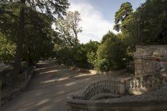 Jardin d'été, Arles, Frankrike Royaltyfria Foton