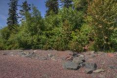 Jardin d'agrément du ` s de Duluth en été Images stock