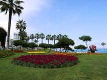 Jardin d'agrément en parc d'amour à Lima Images stock