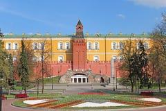 Jardin d'Alexandre à Moscou. Photo libre de droits