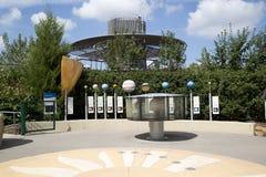 Jardin d'aventure d'enfants en Dallas Arboretum image stock