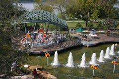 Jardin d'aventure d'enfants d'arborétum de Dallas images stock