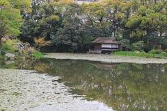 jardin d'en de shosei chez le Japon image libre de droits