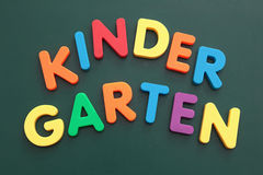 Jardin d'enfants image stock