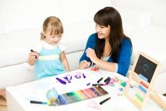 Jardin d'enfants Photos libres de droits