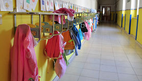 Jardin d'enfants, école maternelle Photos libres de droits