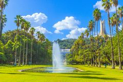 Jardin D 'essais, Algiers arkivfoton