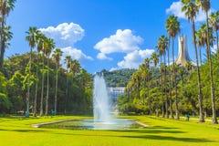 Jardin d ?essais, Algiers zdjęcia stock