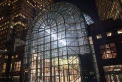 Jardin d'hiver - place financière du monde Images libres de droits