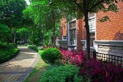Jardin d'horizontal Photo stock