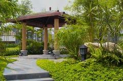 Jardin d'horizontal Image libre de droits