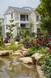 Jardin d'horizontal Images stock