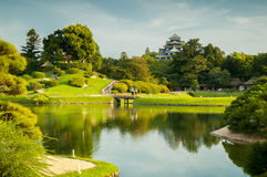 Jardin d'Okayama Image stock