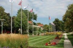 Jardin dans la ville Photo stock