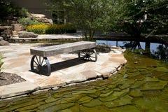 Jardin dans le cowboy national et le musée occidental l'Oklahoma d'héritage images libres de droits