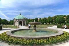 Jardin dans Munich.Germany Photographie stock