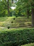 Jardin dans Rogalin, Pologne Images libres de droits