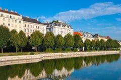 Jardin de belvédère à Vienne, Autriche images libres de droits