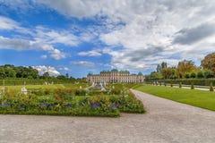Jardin de belvédère, Vienne images libres de droits