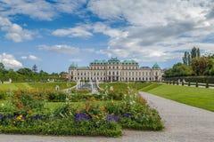 Jardin de belvédère, Vienne photographie stock libre de droits