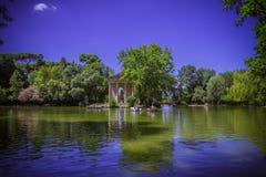 Jardin de Borghese de villa à Rome Photo libre de droits