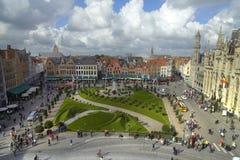 Jardin de Bruges Image libre de droits