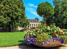 Jardin de château à Fulda, Allemagne Photo libre de droits