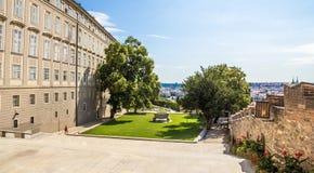 Jardin de château Images libres de droits
