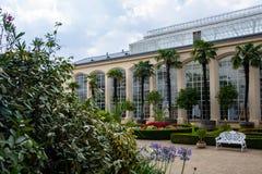 Jardin de château dans Kromeriz, CZ images libres de droits